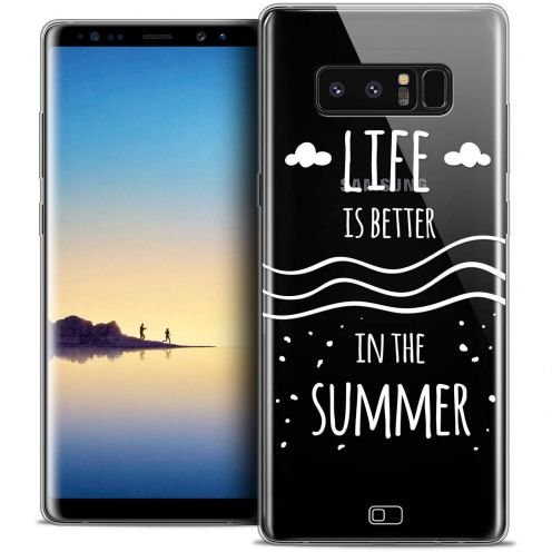 "Carcasa Crystal Gel Extra Fina Samsung Galaxy Note 8 (6.3"") Summer Life's Better"