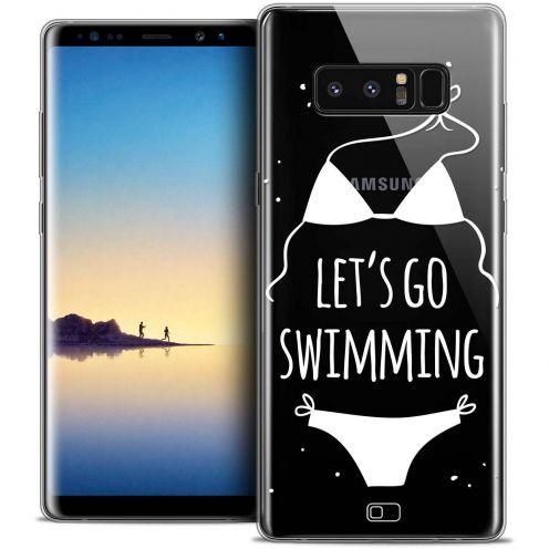"Carcasa Crystal Gel Extra Fina Samsung Galaxy Note 8 (6.3"") Summer Let's Go Swim"
