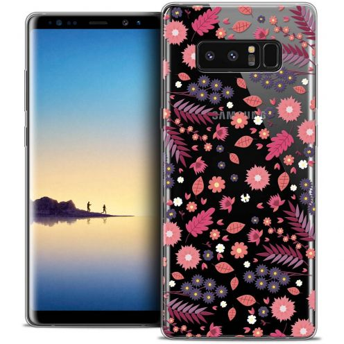 "Coque Crystal Gel Samsung Galaxy Note 8 (6.3"") Extra Fine Spring - Printemps"