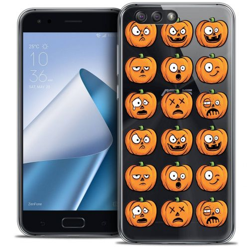 "Coque Crystal Gel Asus Zenfone 4 ZE554KL (5.5"") Extra Fine Halloween - Cartoon Citrouille"