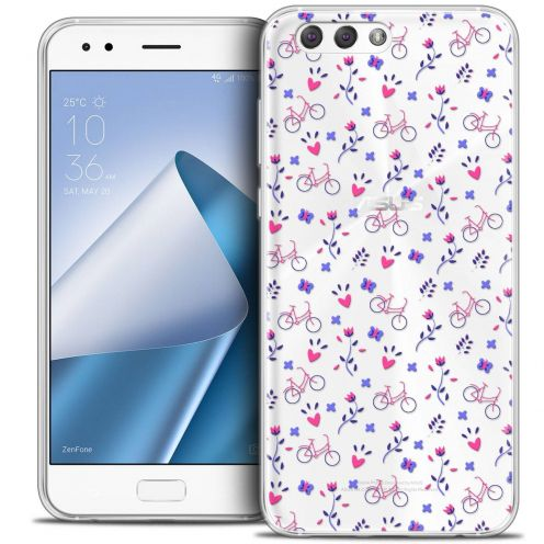 "Coque Crystal Gel Asus Zenfone 4 ZE554KL (5.5"") Extra Fine Love - Bicycle"