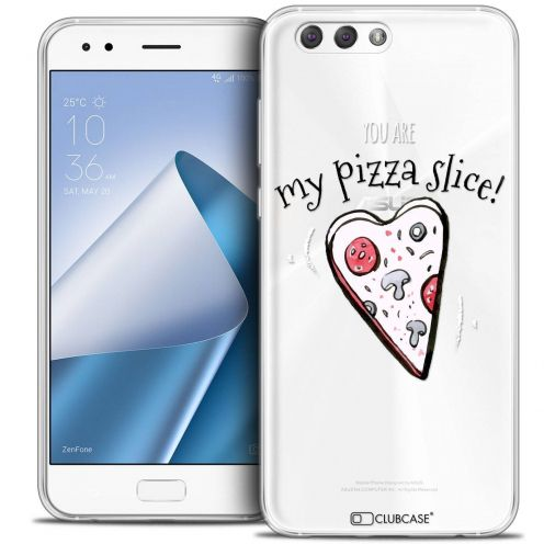 "Coque Crystal Gel Asus Zenfone 4 ZE554KL (5.5"") Extra Fine Love - My Pizza Slice"