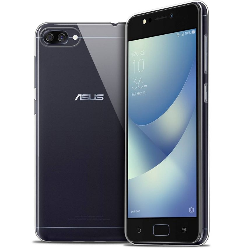 "Coque Asus Zenfone 4 MAX ZC520KL (5.2"") Extra Fine Souple Crystal Clear"