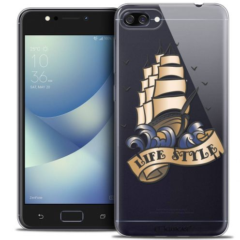 "Carcasa Crystal Gel Extra Fina Asus Zenfone 4 MAX ZC520KL (5.2"") Tatoo Lover Life Style"
