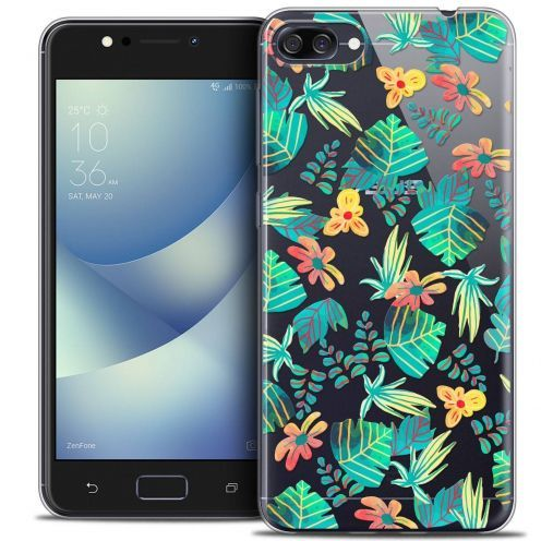 """Coque Crystal Gel Asus Zenfone 4 MAX ZC520KL (5.2"""") Extra Fine Spring - Tropical"""