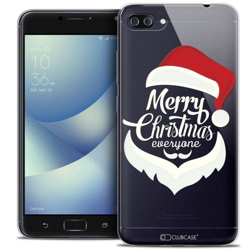 "Coque Crystal Gel Asus Zenfone 4 MAX PLUS / Pro ZC554KL (5.5"") Extra Fine Noël 2017 - Merry Everyone"