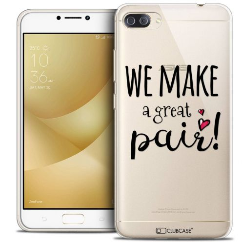 "Coque Crystal Gel Asus Zenfone 4 MAX PLUS / Pro ZC554KL (5.5"") Extra Fine Love - We Make Great Pair"