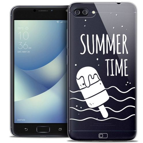 "Carcasa Crystal Gel Extra Fina Asus Zenfone 4 MAX PLUS / Pro ZC554KL (5.5"") Summer Summer Time"