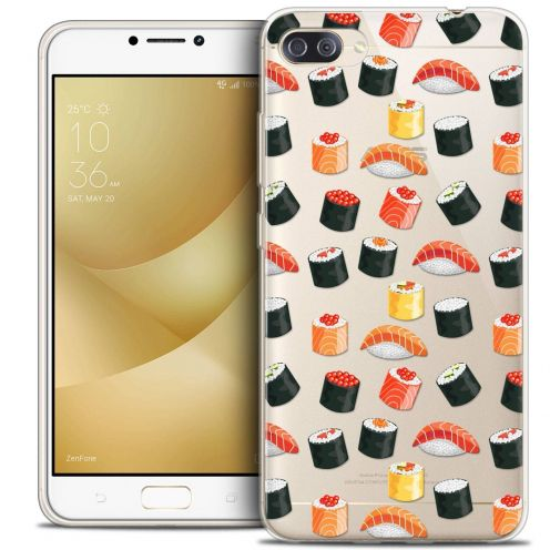 "Coque Crystal Gel Asus Zenfone 4 MAX PLUS / Pro ZC554KL (5.5"") Extra Fine Foodie - Sushi"