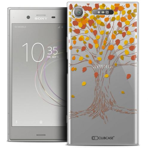 "Coque Crystal Gel Sony Xperia XZ1 (5.2"") Extra Fine Autumn 16 - Tree"