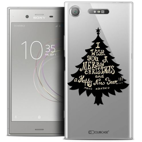 "Coque Crystal Gel Sony Xperia XZ1 (5.2"") Extra Fine Noël 2017 - XOXO Tree"