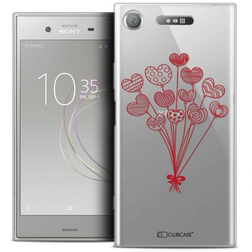 """Coque Crystal Gel Sony Xperia XZ1 (5.2"""") Extra Fine Love - Ballons d'amour"""
