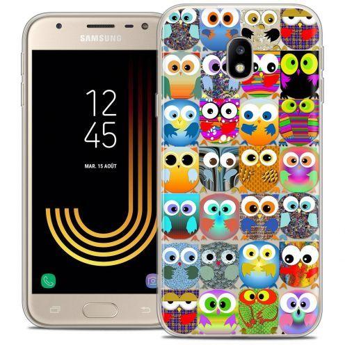 "Coque Crystal Gel Samsung Galaxy J3 2017 J320 (5"") Extra Fine Claude - Hibous"