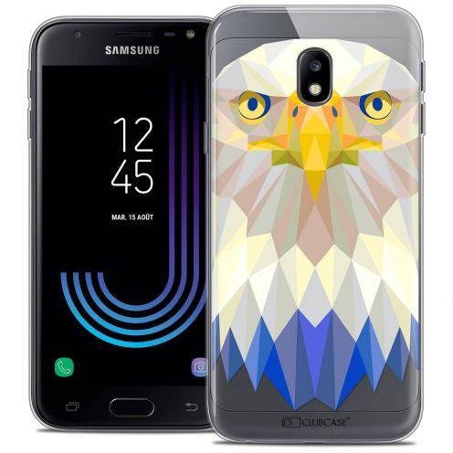 """Coque Crystal Gel Samsung Galaxy J3 2017 J320 (5"""") Extra Fine Polygon Animals - Aigle"""