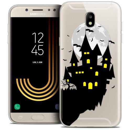 "Coque Crystal Gel Samsung Galaxy J5 2017 J530 (5.2"") Extra Fine Halloween - Castle Dream"