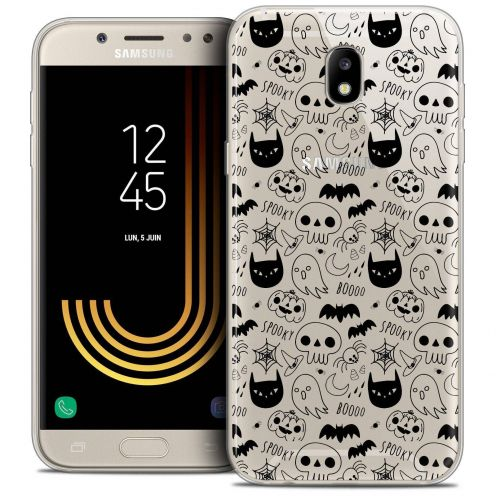 "Coque Crystal Gel Samsung Galaxy J5 2017 J530 (5.2"") Extra Fine Halloween - Spooky"