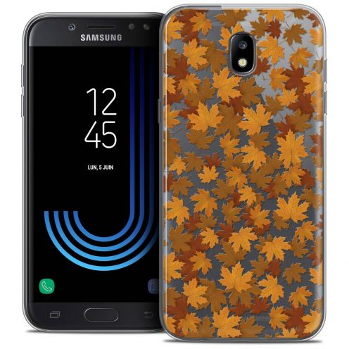 "Coque Crystal Gel Samsung Galaxy J5 2017 J530 (5.2"") Extra Fine Autumn 16 - Feuilles"