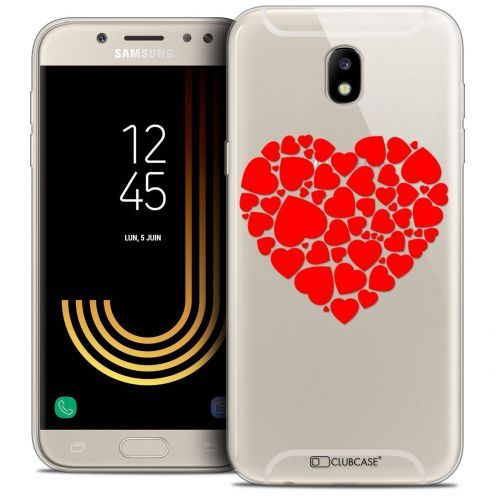 "Coque Crystal Gel Samsung Galaxy J5 2017 J530 (5.2"") Extra Fine Love - Coeur des Coeurs"