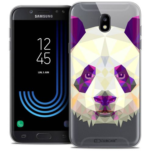 "Coque Crystal Gel Samsung Galaxy J5 2017 J530 (5.2"") Extra Fine Polygon Animals - Panda"