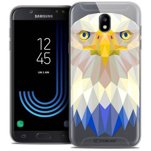 """Coque Crystal Gel Samsung Galaxy J5 2017 J530 (5.2"""") Extra Fine Polygon Animals - Aigle"""
