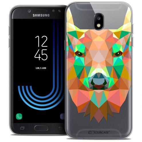 """Coque Crystal Gel Samsung Galaxy J5 2017 J530 (5.2"""") Extra Fine Polygon Animals - Cerf"""
