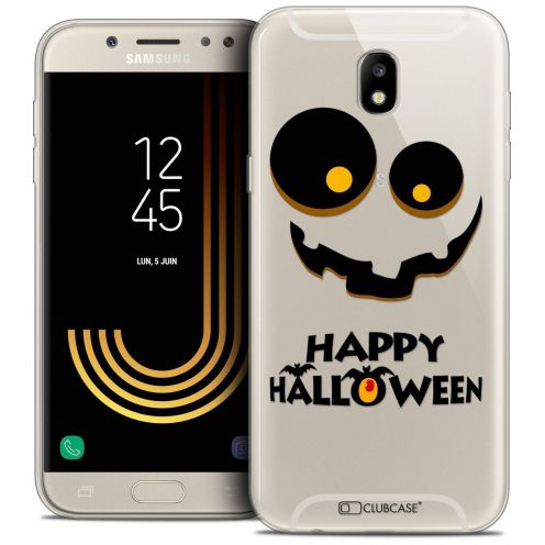 "Coque Crystal Gel Samsung Galaxy J7 2017 J730 (5.5"") Extra Fine Halloween - Happy"