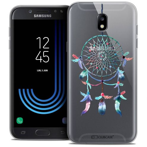 "Coque Crystal Gel Samsung Galaxy J7 2017 J730 (5.5"") Extra Fine Dreamy - Attrape Rêves Rainbow"