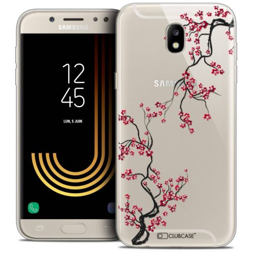 "Coque Crystal Gel Samsung Galaxy J7 2017 J730 (5.5"") Extra Fine Summer - Sakura"
