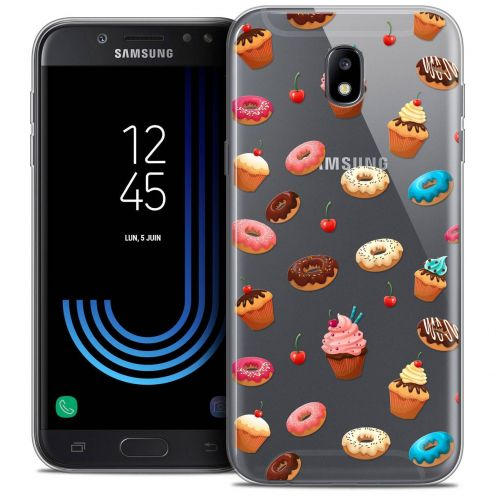 "Coque Crystal Gel Samsung Galaxy J7 2017 J730 (5.5"") Extra Fine Foodie - Donuts"