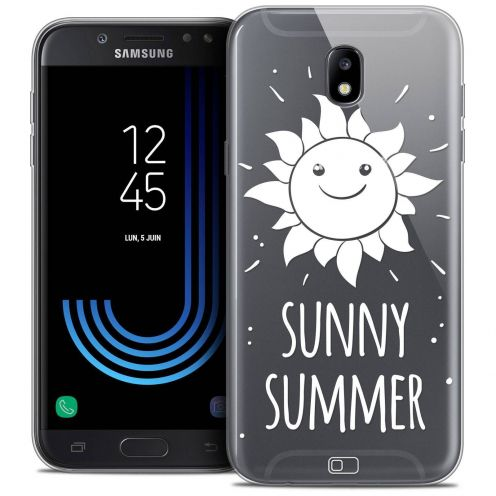 "Coque Crystal Gel Samsung Galaxy J7 2017 J730 (5.5"") Extra Fine Summer - Sunny Summer"