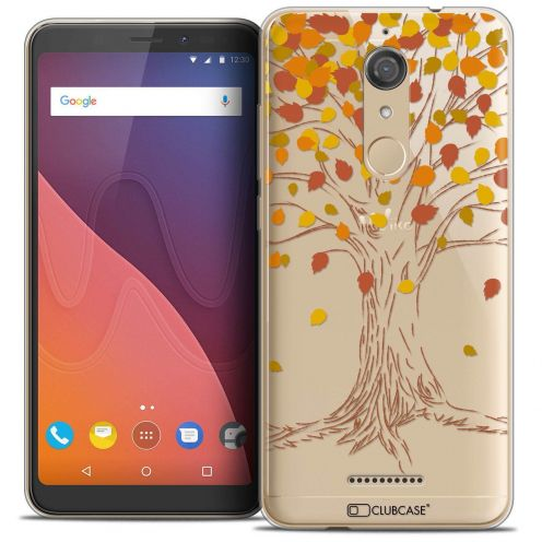 "Coque Crystal Gel Wiko View (5.7"") Extra Fine Autumn 16 - Tree"