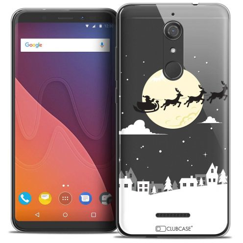 "Coque Crystal Gel Wiko View (5.7"") Extra Fine Noël 2017 - Flying Stanta"