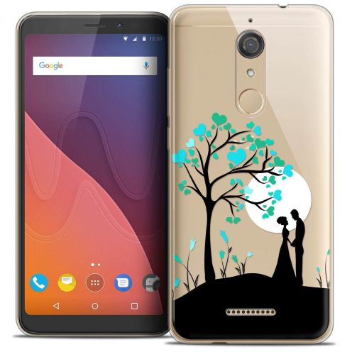 "Coque Crystal Gel Wiko View (5.7"") Extra Fine Love - Sous l'arbre"