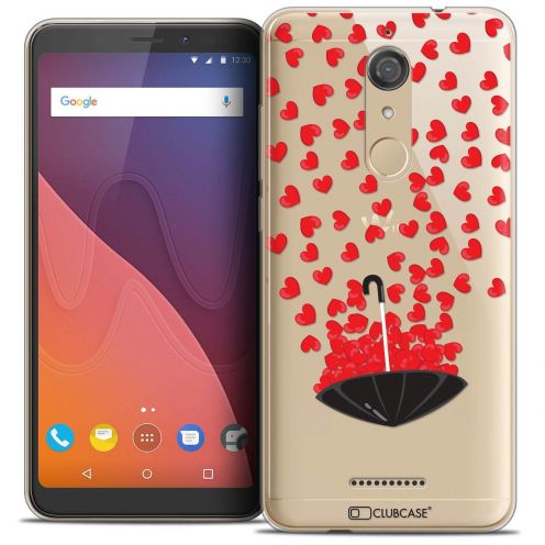 """Coque Crystal Gel Wiko View (5.7"""") Extra Fine Love - Parapluie d'Amour"""