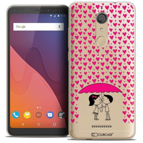 "Coque Crystal Gel Wiko View (5.7"") Extra Fine Love - Pluie d'Amour"