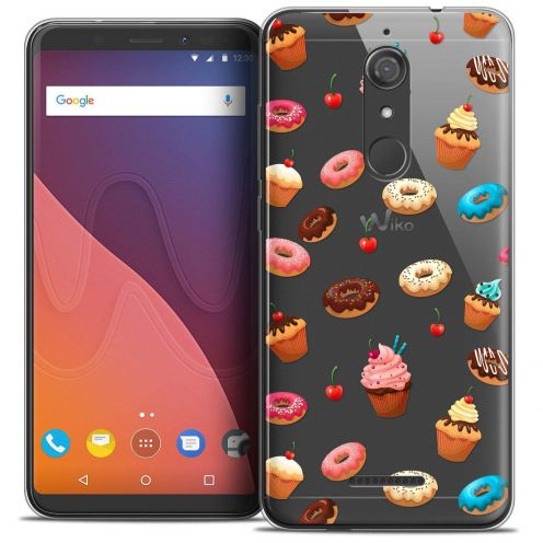 """Coque Crystal Gel Wiko View (5.7"""") Extra Fine Foodie - Donuts"""