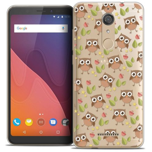 "Coque Crystal Gel Wiko View (5.7"") Extra Fine Summer - Hibou"