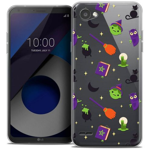"""Coque Crystal Gel LG Q6 (5.5"""") Extra Fine Halloween - Witch Potter"""