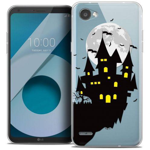 "Coque Crystal Gel LG Q6 (5.5"") Extra Fine Halloween - Castle Dream"