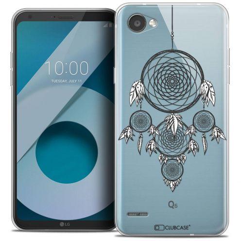 """Coque Crystal Gel LG Q6 (5.5"""") Extra Fine Dreamy - Attrape Rêves NB"""