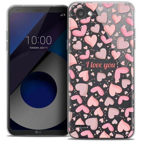"Carcasa Crystal Gel Extra Fina LG Q6 (5.5"") Love I Love You"