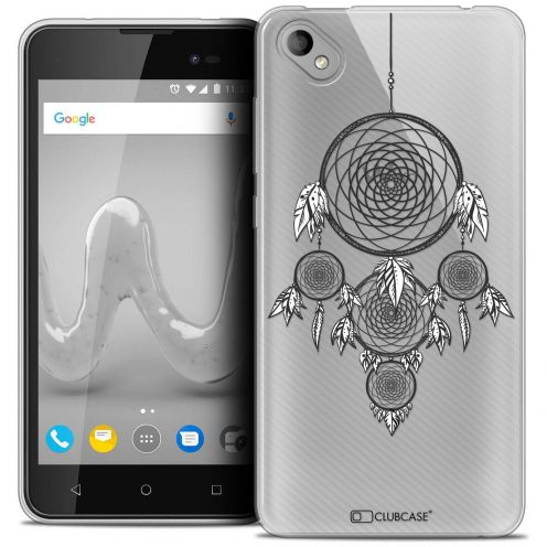 "Coque Crystal Gel Wiko Sunny 2 PLUS (5"") Extra Fine Dreamy - Attrape Rêves NB"