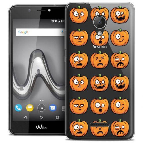 "Coque Crystal Gel Wiko Tommy 2 PLUS (5.5"") Extra Fine Halloween - Cartoon Citrouille"