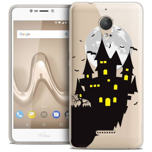 "Coque Crystal Gel Wiko Tommy 2 PLUS (5.5"") Extra Fine Halloween - Castle Dream"