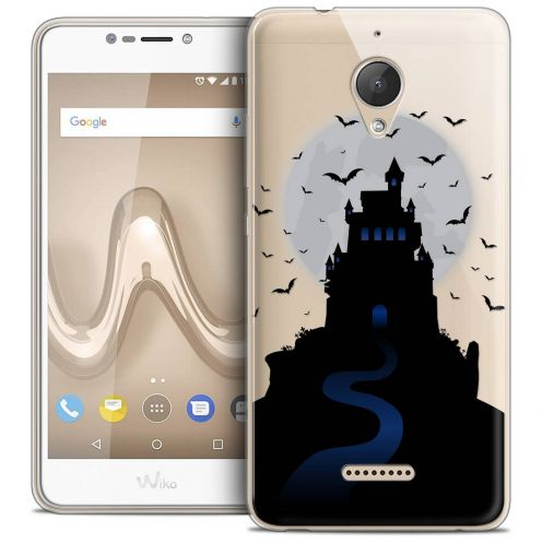 "Coque Crystal Gel Wiko Tommy 2 PLUS (5.5"") Extra Fine Halloween - Castle Nightmare"
