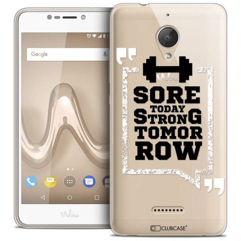 """Coque Crystal Gel Wiko Tommy 2 PLUS (5.5"""") Extra Fine Quote - Strong Tomorrow"""