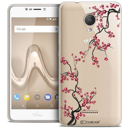 "Coque Crystal Gel Wiko Tommy 2 PLUS (5.5"") Extra Fine Summer - Sakura"