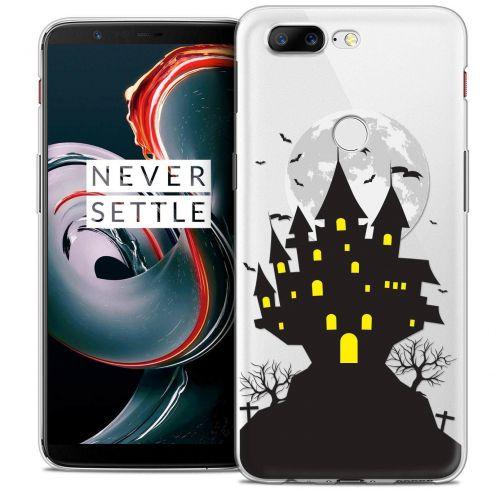 "Coque Crystal Gel OnePlus 5T (6"") Extra Fine Halloween - Castle Scream"