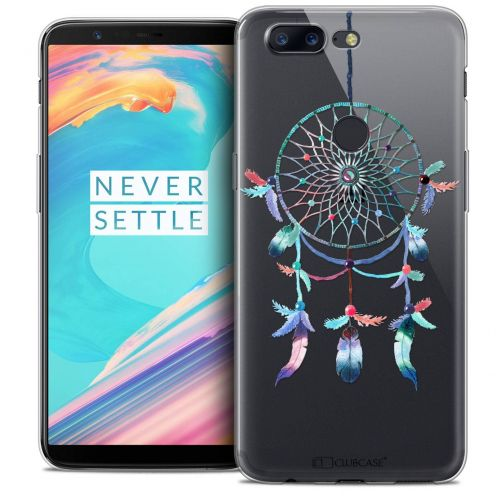 "Coque Crystal Gel OnePlus 5T (6"") Extra Fine Dreamy - Attrape Rêves Rainbow"