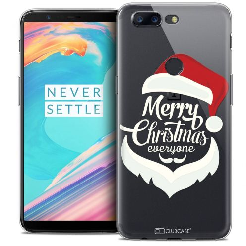 "Coque Crystal Gel OnePlus 5T (6"") Extra Fine Noël 2017 - Merry Everyone"